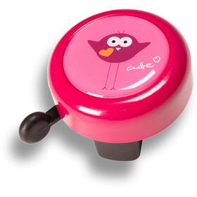 Cube Friends soittokello , vaaleanpunainen/punainen